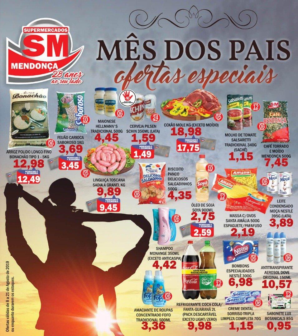 Mês dos Pais, Ofertas Especiais no Supermercados Mendonça!