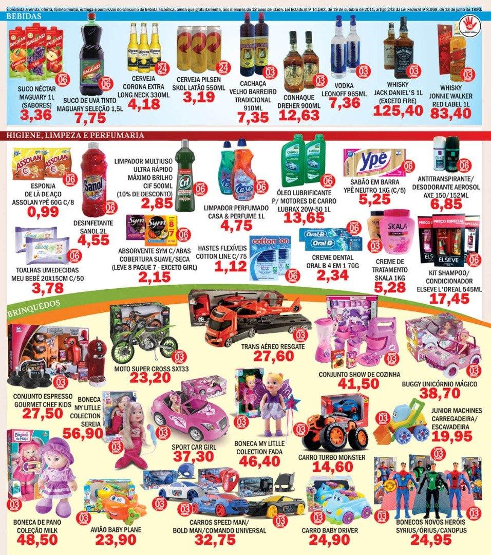 Mês das Crianças: Ofertas que parecem Brincadeira, no Supermercados Mendonça