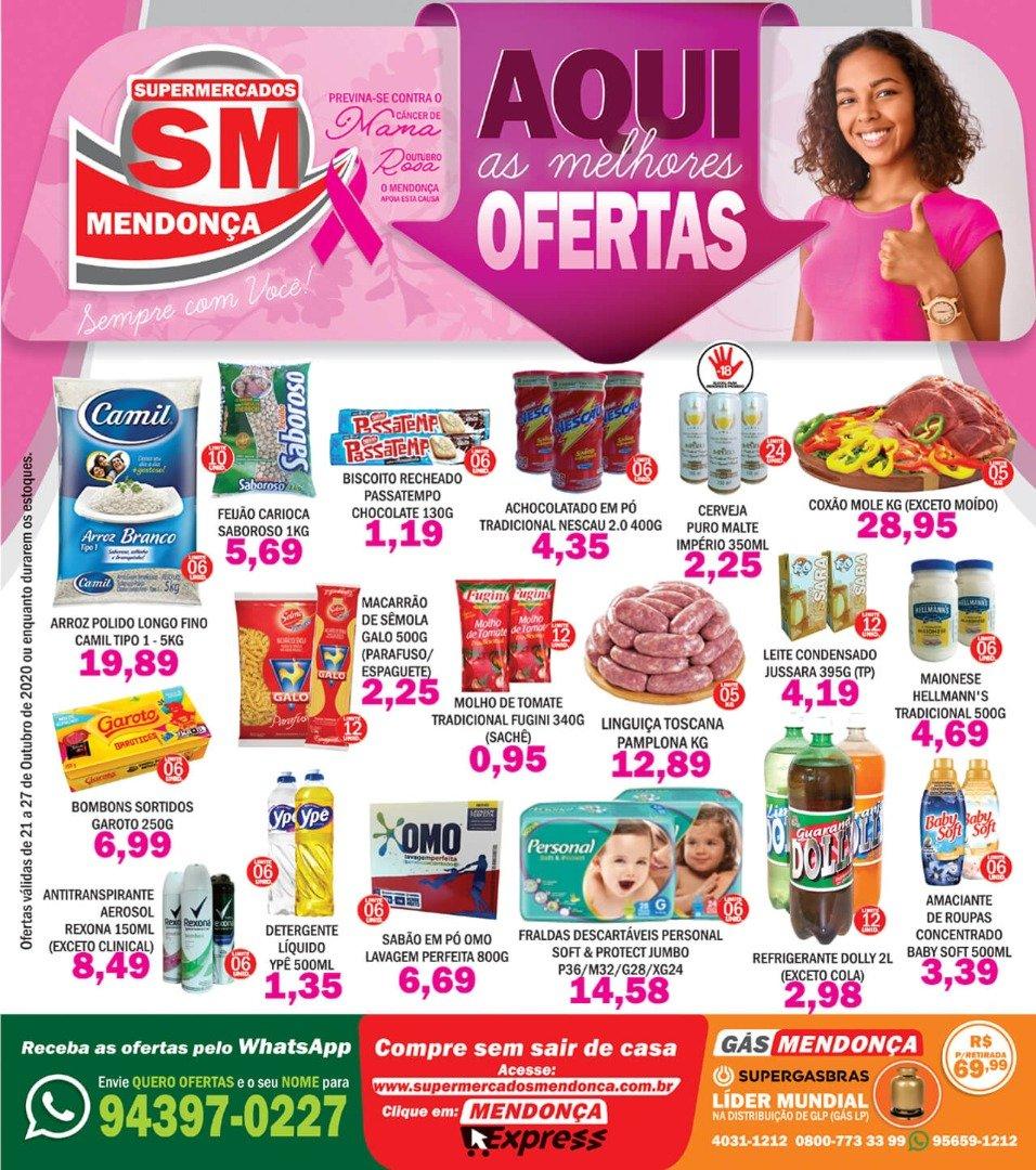 Ofertas do Supermercados Mendonça