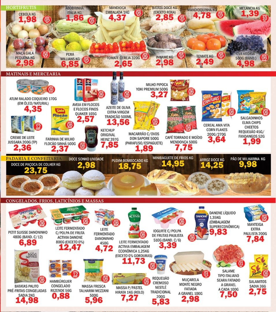 Supermercados Mendonça e o Arraiá do Preço Bão!
